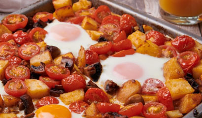 Coeliac Breakfast Tray