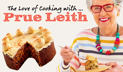 The Love of Cooking with … Prue Leith