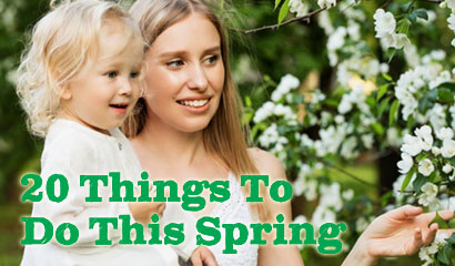 Twenty Things to do this Spring